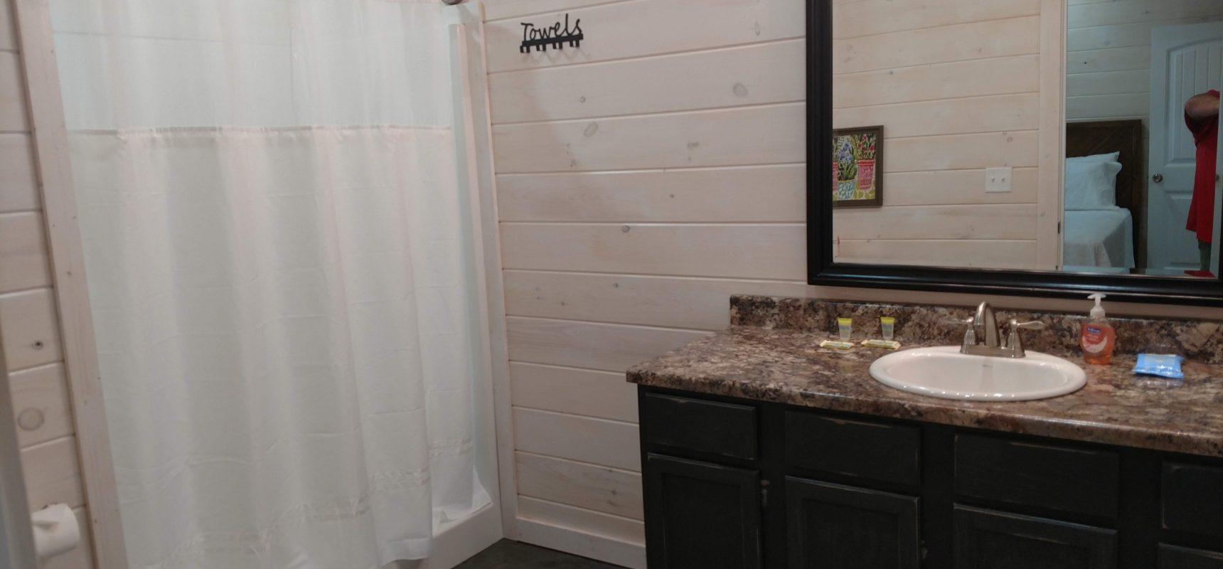 King Cabin 6 Bathroom 1